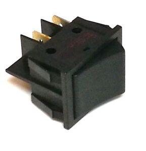 3 X BLACK SINGLE POLE TOGGLE LIGHT INDICATOR 16A 240V ON/OFF SPST A32A