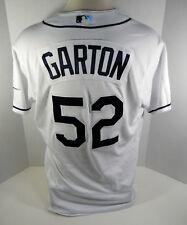 2017 Tampa Bay Rays Ryan Garton #52 Game Issued White Jersey RAYS00266