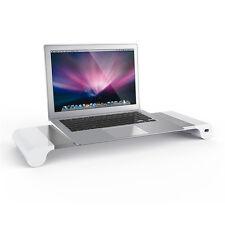 4 Ports USB Monitor Stand Holder Phone Charger Desktop Bracket  for PC Laptop