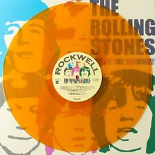 "THE ROLLING STONES "" KEY TO THE HIGHWAY "" MINT UK LP ** ORANGE COLOURED VINYL **"