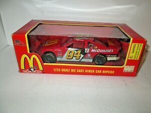 Die Cast Bill Elliott #94 McDonald's Monopoly Thunderbird , 1:24 scale, New