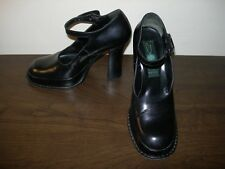 MARC JACOBS STYLE SMERALDO WOMEN'S SHOES BLACK LEATHER EU 36- 37 / UK 3- 4 SLIM