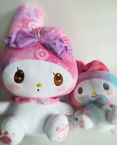 My Melody Plush Doll Twinkle Pattern 38cm & 23cm New Fastest delivery with DHL