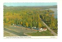 NIPIGON RIVER MOTEL & COTTAGES, NIPIGON, ONTARIO, CANADA CHROME POSTCARD