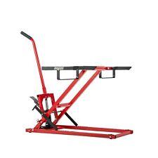 Pro Lift Lawn Mower 300 Lbs Capacity Tractors Zero Foot Pedal Repairs Adjustable