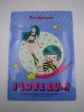 Anime Manga Urusei Yatsura Lum Shitajiki Pencil Board B Seika Note Japan 1980s