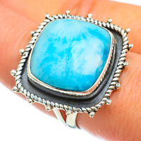 Large Larimar 925 Sterling Silver Ring Size 9 Ana Co Jewelry R44204F