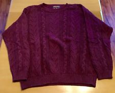 VTG MENS WOOLRICH HEAVY KNIT SWEATER MADE IN USA LARGE 80'S/90'S NORMCORE EUC