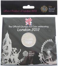 2012 Royal excellent état Londres Jeux Olympiques BU cinq Livre pièce de monnaie