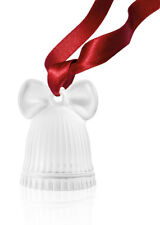 LALIQUE 2018 CHRISTMAS BELL DECORATION CLEAR #10647400 BRAND NEW IN BOX F/SH