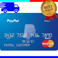 VCC for paypal Virtual Credit Card Paypal 2$ Balnce Verification works worldwide