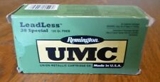 Vintage Remington Umc Leadless 38 Special 125Gr Fneb Ammo Box Empty