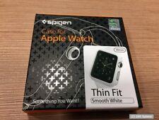 Spigen SGP11488 Schutzhülle für Apple Watch 38mm THIN FIT Hülle Case, Weiß, NEU