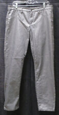 Calvin Klein Stretch Legging Jeans Coated Silver Wash Size 31/12