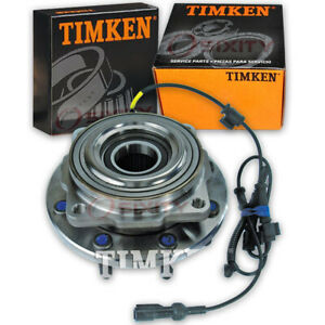 Ford F-250 Super Duty 05-10 Timken SP940201 Front Wheel Bearing & Hub Assembly