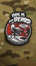 This is my Beard Morale PVC Patch Leonides 300