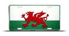 "Wales UK United Kingdom 6""x12"" Aluminum License Plate Sign"
