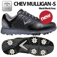 Callaway Golf Shoes Chev Mulligan S Men's Black/Black - NEW! 2021