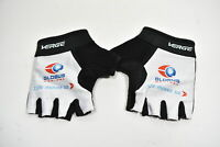 Small Unisex Verge Cycling Gloves Globus Medical White CLOSEOUT