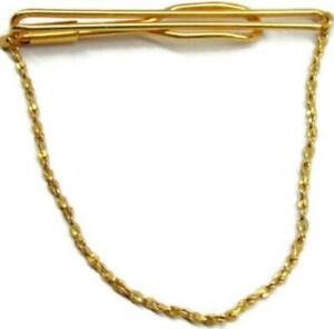 Vintage Tie Clip Fisherman/'s Float Buoy Trap Slip On Design Gold Plated Tieclip Used