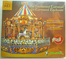 Built Art The Enchanted Carousel Wrebbit Musical 3D Puzzle NEW SEALED CBC-202