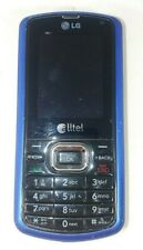 Alltel Lg Banter Ax265 Blue Black Qwerty Slide Phone