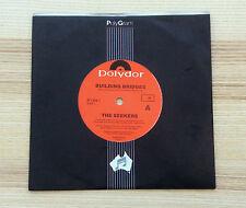 "The Seekers - Building Bridges - Australia 1989 - 7"" 45 Vinyl Single"