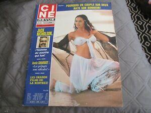 "RARE! REVUE ""CINE TELE REVUE N°34 - 1980"" Annie GIRARDOT, Marie-France PISIER"