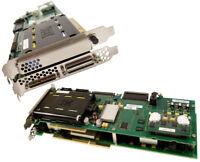 IBM PCIx U320 SCSI Auxilary Cache w Bat Adapter 42R3867 42R6579-39J5910 Card Ass