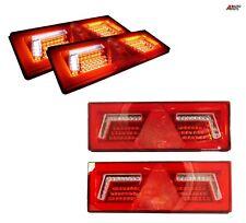 Set Of Top Quality E9 Mark 96 Led Rear Lights Neon Dynamic Tail Lamps 12v / 24v