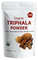 Organic Triphala Powder Trifala Body Detox 4,8,16 oz Amla Haritaki Bibhitaki