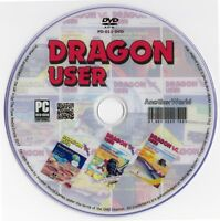 DRAGON USER Magazine Collection on Disk ALL ISSUES (Dragon 32/64 Computer Games)
