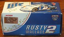 Action 1998 Ford Taurus #2 Rusty Wallace Miller Lite/Elvis TCB 1:64 Diecast Car