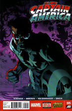 ALL-NEW CAPTAIN AMERICA #5 - Marvel Now! - New Bagged