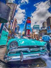 Fotografia Cityscape New York City USA Times Square Plymouth POSTER mp3329b