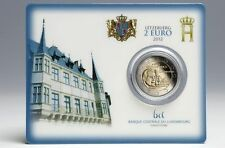Luxembourg  2 €  2012  coincard Granduc Henry