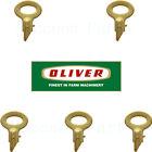 5 Oliver Vintage Tractor Ignition Keys Super 55 66 77 88 950 and 1550~2255