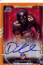 david cobb rookie rc draft auto autograph minnesota gophers college #/50 2015