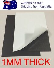 X2 1mm A4 Magnetic Magnet Sheets Sticky Self Adhesive Hand Craft Fridge 1.0mm