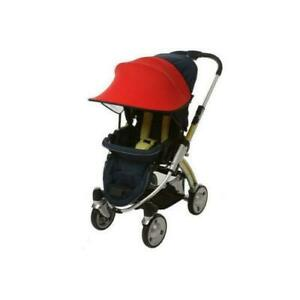 Manito Sun Shade for Strollers and Car Seats - RED  Single NEW