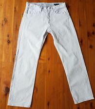 RALPH LAUREN Beige/Grey Acid Wash Straight Jeans Size 34/Waist 89cm
