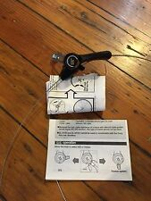 NOS Shimano Right-Side 6 Speed Thumb Shifter W/Cable & Manual-Urban Cruiser