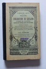 Classique en Latin - SALLUSTE La Conjuration de Catilina  - Ed Delagrave 1939