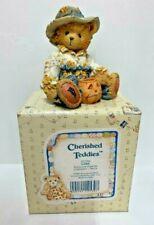 "~Cherished Teddies~GARY~""Scarecrow"" Figurine~NIB~"