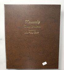 Used Dansco 1964-To Date Kennedy Half Dollars Empty Coin Album Book 33 Oz. *215