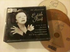 EDITH PIAF '75 Chansons' Dutch 3 CD Album Box Set - Non Je Ne Regrette Rien