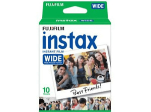 Película fotográfica - Fujifilm Instax Wide Film. Instant Film. 10 hojas