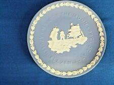 Wedgwood Jasperware Plate-Man on the Moon-Apollo 11, 1969