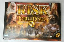 Risk The Lord of the Rings Middle Earth Conquest Boardgame Complete with Ring