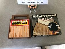 Vintage Tomy Strolling Bowling In box wind up WORKS GREAT no instructions